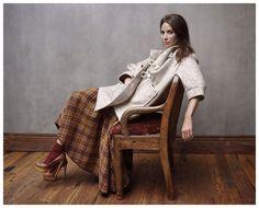 Christy Turlington Shows Off Her Ladylike Side in Elle France