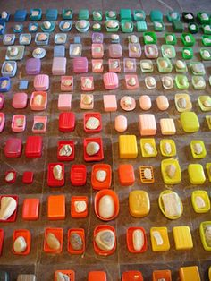Anu Tuominen: Early Morning By The Sea (detail) Rainbow Food, Taste The Rainbow, Over The Rainbow, Rainbow Connection, Colorful Artwork, Textiles, Environmental Art, Art Plastique, Rainbow Colors