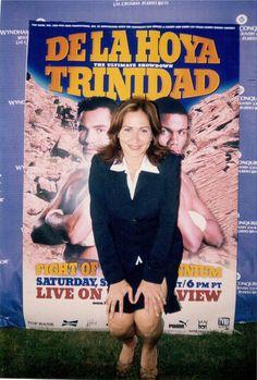 """Un recuerdo de la entrevista realizada a Félix """"Tito"""" Trinidad en preparación a su encuentro boxistico con Oscar de la Hoya, 1999. Corresponsal de Ocurrió así."""