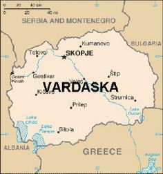 Maps of Eastern Europe: Map of Macedonia World Almanac, Republic Of Macedonia, Macedonia Fyrom, Country Information, Serbia And Montenegro, European Map, Central And Eastern Europe, Country Maps, Countries Of The World