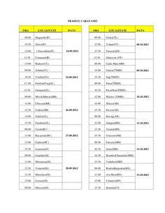 """Traseul caravanei Campaniei """"Controlul Integrat al Poluarii cu Nutrie… Saga, Periodic Table, Dj, Camper Van, Periodic Table Chart, Periotic Table"""