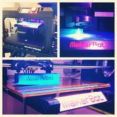 Have you checked out our 3D printers yet? #3dprinter #makerbot #lynning #picstitch