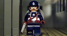 Captain America Lego Minifig