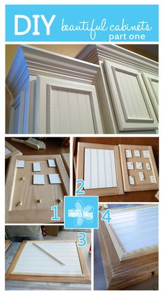DIY Beautiful Cabinets | Make It Monday | East Valley Moms Blog | East Valley Moms Blog