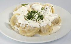 Lithuanian dumplings koldunai