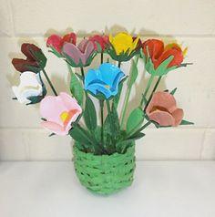 Monte arranjos com suas tulipas