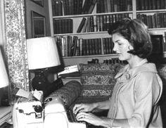 "QUOTES  ""When you get written about a lot, you just think of it as a little cartoon that runs along at the bottom of our life—but one that doesn't have much to do with your life.""  – Jacqueline Kennedy Onassis ❤❀❤❀❤ http://en.wikipedia.org/wiki/Jacqueline_Kennedy_Onassis"