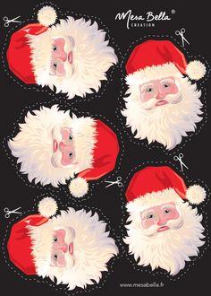 Personnalisez votre serviette Père Noël - Mesa Bella Blog