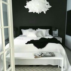 Black and white bedrooms … | Pinteres…