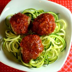 Low Carb Zucchini Pasta aka zoodles @Allrecipes.com