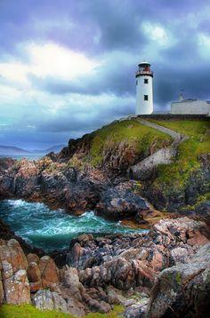 Fanad Lighthouse, Donegal, Ireland         #travel #holiday #UK #England