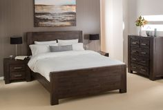 Add a touch of natural warmth to your bedroom with the Kingston package. Each piece has been carefully crafted to showcase the natural beauty of the timbers grain while offering a strong and durable finish that's sure to last.