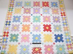 love this granny square quilt