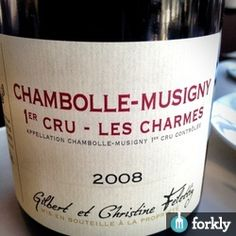 2008 Chambolle-Musigny 1er Cru - Les Charmes on at Arro