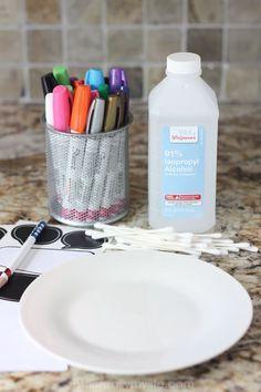 Sharpie Alcohol, Sharpie Plates, Sharpie Paint Pens, Sharpie Markers, Sharpies On Mugs, Alcohol Inks, Mug Crafts, Sharpie Crafts, Diy Sharpie Mug