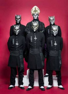 Love the Ghoul's masks during the Meliora era