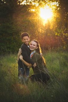 Photo from {Wollner} Family collection by Ashlee McKee Photography #mother #son #preteen #field #sunshine #goldenhour