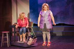 "Amy Ward, left, and Niki Boyer-Swatski in EPAC's ""Legally Blonde."""