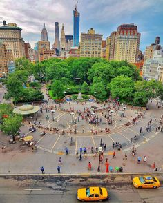 """What I Saw In NYC on Instagram: """"photo by @gigi.nyc Union Square Park - 14st…"""