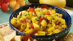 Cinco de Mango Salsa recipe — mango salsa with zesty lime.