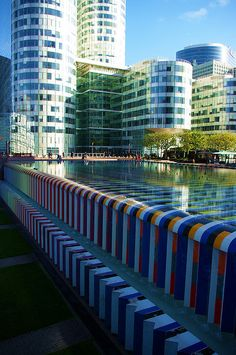 Fontaine Agam, Paris - La Défense