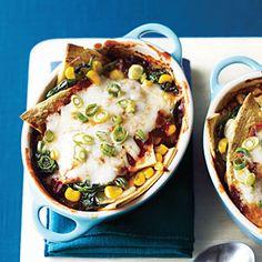 Vegetable Enchiladas | MyRecipes.com
