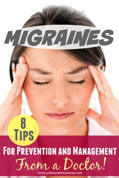 There are lots of tips on preventing and managing migraines. What makes these different? They are tips from a neurologist who helped me learn how to cope!