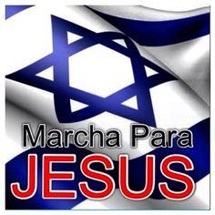 MARCHA PARA JESUS EM ISRAEL . IGREJA RENASCER EM CRISTO .