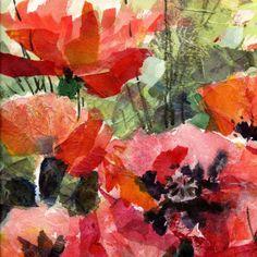 Red Poppies 1 Mixed Media at ArtistRising.com