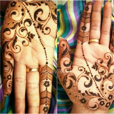 Persian fusion it is this time. I was in a mood for something delicate. Love to my henna family. devakySdharan