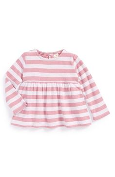 Tucker + Tate Stripe Peplum Top (Baby Girls) available at #Nordstrom