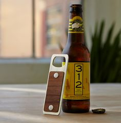 CNC Bottle Opener in Wood and Aluminum | MAKE