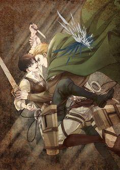 Erwin vs Levi - エルリ log3【R18】 by Atlantis