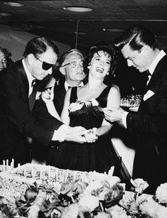 Natalie Wood on her 21st birthday (1959)