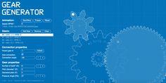 Quante volte vi è capitato di dover creare un #ingranaggio? Ecco un #tool gratuito adatto a voi: http://geargenerator.com/