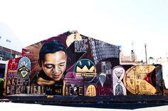 I Art SA Community Mural Project - Lower Woodstock, Cape Town, South Africa Graffiti Murals, Street Graffiti, Mural Art, South African Art, Drip Painting, Public Art, Woodstock, Cool Art, Awesome Art