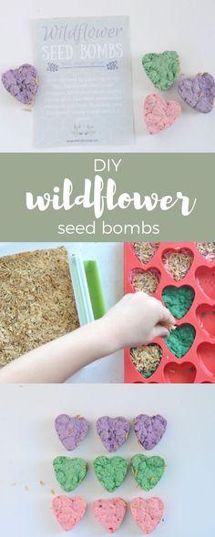 Kind Kids Club: DIY Wildflower Seed Bombs – Kid + Kin #TriplePFeature