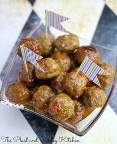 Thai Meatball Appetizer