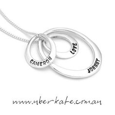 Mix and match the Uberovals to create a combination you will never want to take off. https://www.uberkate.com.au/products.php?category=Necklaces&subcategory=Uberovals