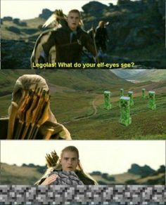Legolas is now officially terrified.