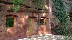 Live like a sophisticated troglodyte in this subterranean cave home