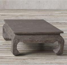 17th C. Scholar's Square Coffee Table