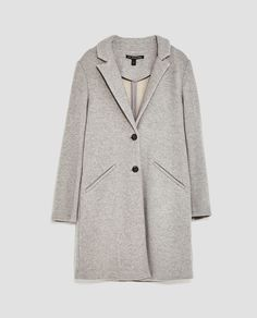 Image 8 of SOFT FABRIC COAT from Zara