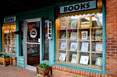 Black Mountain Books - Front of Store, Black Mountain, NC.