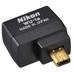 Nikon WU-1a Wireless Mobile Adapter for Nikon Digital SLRs from Nikon $59.95 - Nikon WU-1a Wireless Mobile Adapter for Nikon Digital SLRs  Automatically send great images to your smartphone or tabletUse your smartphone or tablet to capture images from your D3200Easy transfer, easy sharingCompatible with Android OS 2.3, 3.x, 4.x (smartphones), Android OS 3.0 or later...
