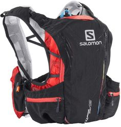Salomon's ultimate stretch fit hydration pack with 12L carrying capacity, wraps around the body to let you run normally. Ideal for Ultra-trail races or full days out on the trail.