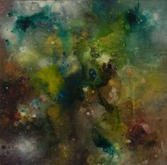 Nebulous No. 1 by Chris Foster Mixed Media on Canvas 20 in x 20 in