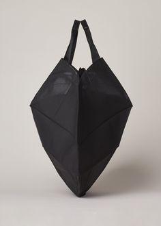 Totokaelo - Issey Miyake Black Luster Origami Bag