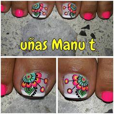 Summer Toe Nails, Toe Nail Designs, Toe Nail Art, Pedicure, You Nailed It, My Nails, Instagram Posts, Akira, Finger Nails