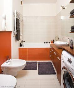 <p>Katarzyna sama wykonała projekt łazienki. Ta łazienka to nie tylko funkcjonalne i wygodne wnętrze, ale także energetyczne. Właścicielka od samego początku wiedziała, że aranżacja łazienki nie może się obejść bez koloru pomarańczowego - ten kolor ją inspiruje. Dzięki tak urządzonej łazience zaczyna i kończy każdy dzień w dobrym nastroju.</p>